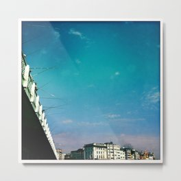 galata bridge Metal Print