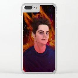 Stiles Stilinski Clear iPhone Case