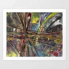 #ArtLeak Art Print