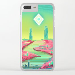 PHAZED PixelArt 3 Clear iPhone Case