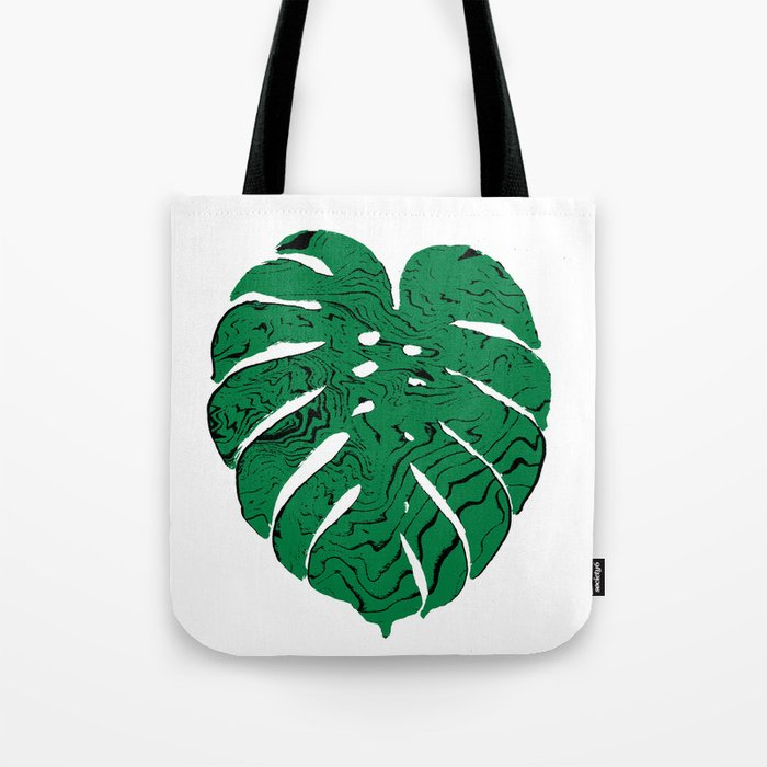 Monstera cheese plant house plants yoga studio minimalist art hipster decor Tote Bag