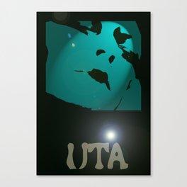 Uta in the Spotlight by James Glines Canvas Print
