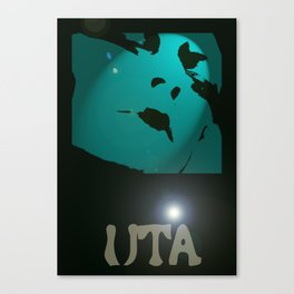 Uta in the Spotlight by James Glines Canvas Print