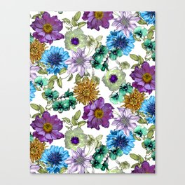 Botanical Haze Canvas Print
