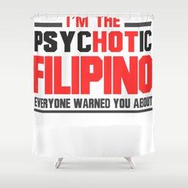 Hot Filipino Shower Curtain