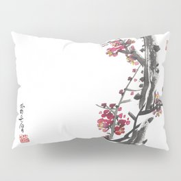 Plum Blossom Two Pillow Sham