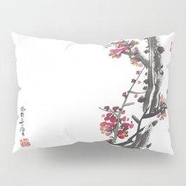 Plum Blossom Two Pillow Sham