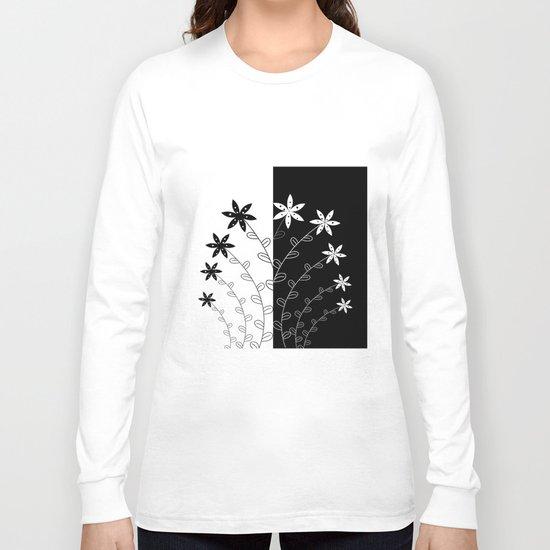 BLACK B Long Sleeve T-shirt