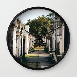 Lafayette Cemetery #1 Wall Clock
