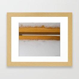 Thinking of Rothko Framed Art Print