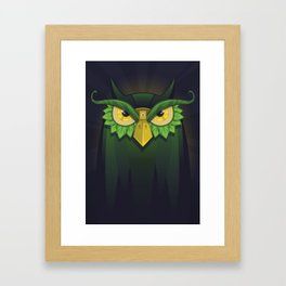 Royal Owl Framed Art Print