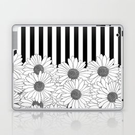 Daisy Stripe Laptop & iPad Skin