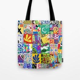 Henri Matisse Montage Tote Bag