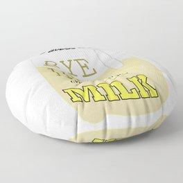 Chunky Lemon MIlk Floor Pillow