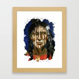 Injun Framed Art Print