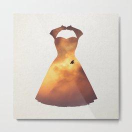 Garment 2 Metal Print