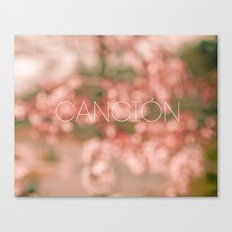 Cancion Canvas Print