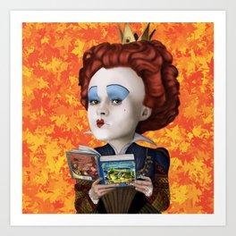 Queen of Hearts TLOS Art Print