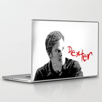 dexter Laptop & iPad Skins featuring Dexter by Crazy Thoom