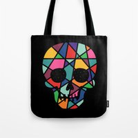 faith Tote Bags featuring Faith by Andy Westface