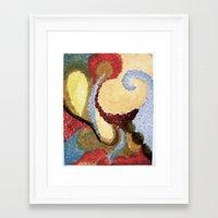 aladdin Framed Art Prints featuring Aladdin by Cricketswool