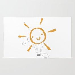 Sun balloon Rug