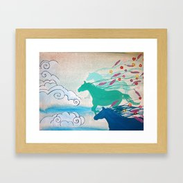 Cinder & Smoke Framed Art Print