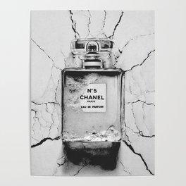 Broken perfume bottle Poster
