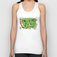 montana Tank Tops featuring MONTANA by Christiane Engel