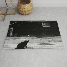 Cat Shadow Rug