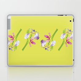 Beautiful Spring Irises Laptop & iPad Skin