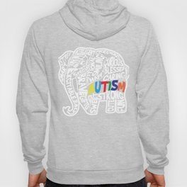 Autism Awareness Elephant Graphic Gift Hoody