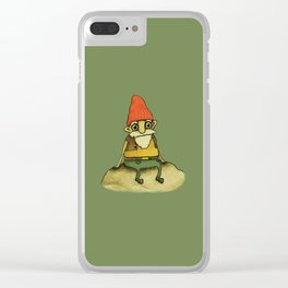 Garden Gnome Clear iPhone Case