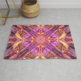 Temple of the Sky God Mandala Rug