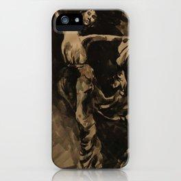 Dancer (Black & White) iPhone Case
