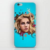 lana iPhone & iPod Skins featuring Lana by Devis Pederzini