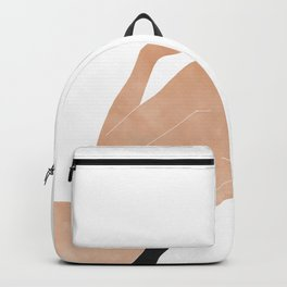 back at the beach Backpack