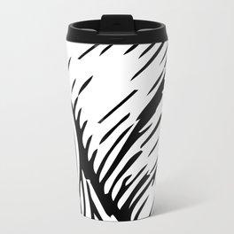 woodcut Metal Travel Mug