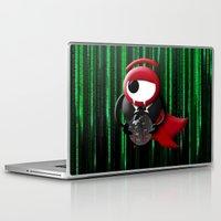 dracula Laptop & iPad Skins featuring Dracula matrix by tanduksapi