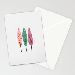 Easter trees Stationery Cards