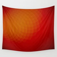 circle Wall Tapestries featuring circle by Ioana Luscov