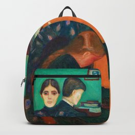 Edvard Munch - Death in the Sickroom - Digital Remastered Edition Backpack