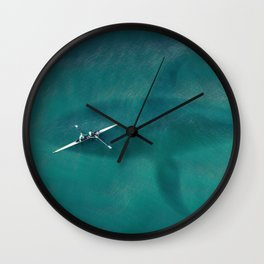 Great Danger Underneath Wall Clock