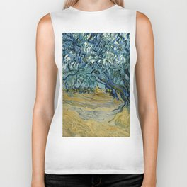 "Vincent Van Gogh ""The Olive Trees, Saint-Rémy"" Biker Tank"