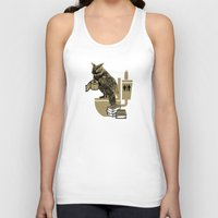 bathroom Tank Tops featuring Bathroom Owl by October's Very Own