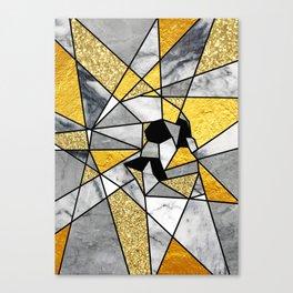 FRAGMENT SKULL Canvas Print