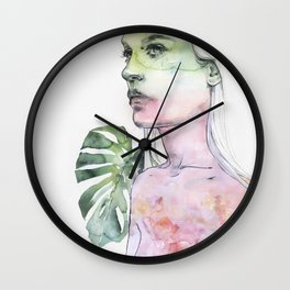 viridescent Wall Clock