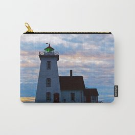Green Beacon Lighthouse Carry-All Pouch