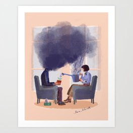 Therapy Art Print