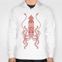 squid Hoodies featuring Squid by Hinterlund